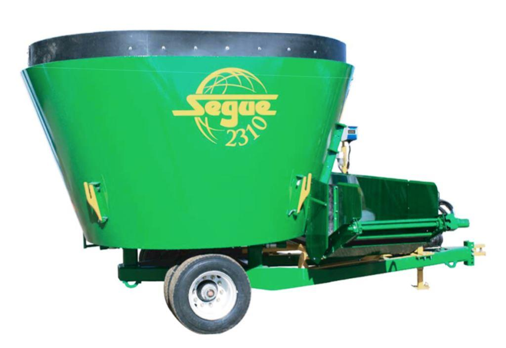 Specifications for Segue 2520 cattle feed mixer wagon